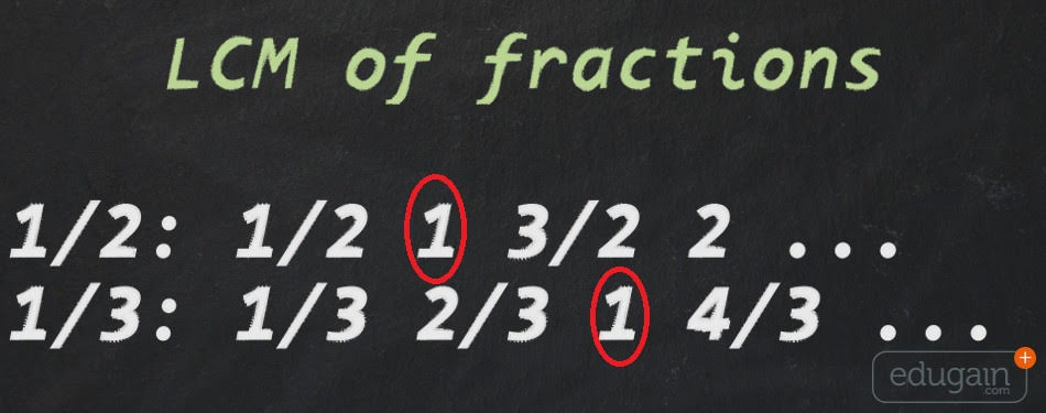 how to solve lcm fractions